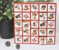 Gisela Graham Navidad Madera Nostalgia Caja Calendario Adviento