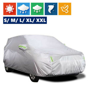 SUV Universal Car Cover Outdoor Waterproof UV Rain All weather Protection Y4Y7