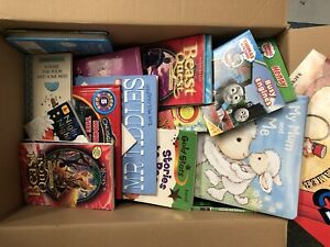 Whole Sale / Job Lot of 60-80 Children Books USED good Titles. Free P & P