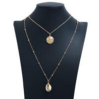 Fashion Women Starfish Shell Clavicle Choker Collar Pendant Charm Chain Necklace