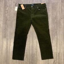 Polo Ralph Lauren Corduroy Jeans Men's 40x30 Dark Green Varick Slim Straight