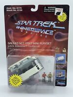 1996 Playmates Star Trek Innerspace Galileo NCC-1701/7 Mini Playset Sealed