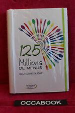 125 millions de menus de la cuisine Italienne - Academia barilla
