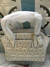 Coach Purse NWT F27392 Leather Summer White - New and Sealed with Orig Box