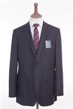Men's Suit Savile Row Alexandre Navy Blue 2 Piece Regular Fit 44R W38 L31