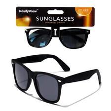 ReadyView Mens Womens Black Wayfare Sunglasses UV 400 Protection Retro