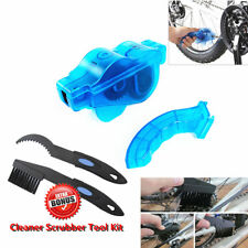Bicycle 3D Chain Clean Brush Cleaning Bike Cycling Cleaner Scrubber Tool Set Kit