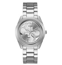 Guess G-Twist Silver Dial Ladies Watch W1082L1