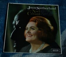 JOAN SUTHERLAND SINGS NOEL COWARD UK LP  DECCA SXL 6255 WB