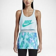Nike sz XS Women's SPORTSWEAR NSW AOP TK GX  Long TANK NEW $60  840639 411