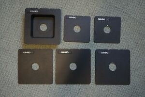 Joblot Cambo Large Format Copal 0 Lens Boards