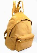 SAINT LAURENT  Brown 'hunting' Leather Backpack - Klassischer Lederrucksack