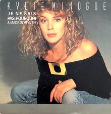 """Kylie Minogue 7"""" Je Ne Sais Pas Pourquoi & Made In Heaven - France (VG/VG+)"""