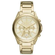 Armani Exchange Gold Plated Steel Mens Watch AX2602
