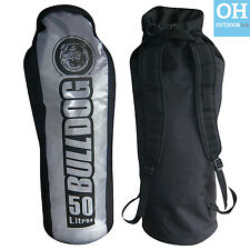Bulldog Dry Bag Back Pack Rucksack 50L Padded Straps Kayak Surf Watersports
