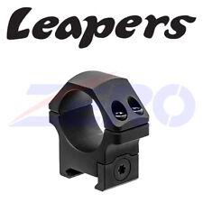 Leapers 30mm 2PCs Low Profile Picatinny Rail Mount Rifle Scope Ring Matte