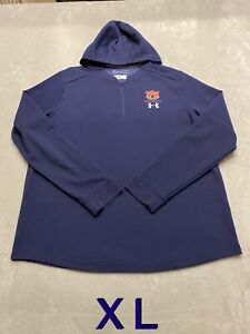 Auburn Tigers Team Issued Player Issued Under Armour XL Jacket Pullover