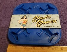 NEW Blue Wonder Woman Invisible Jet Ice Cube Tray