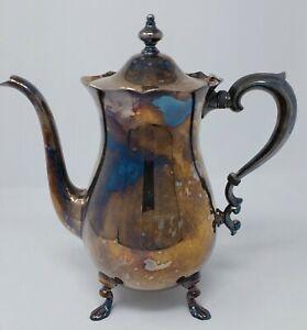 EPCA Poole 150 Silverplate Decorative Coffee Pot