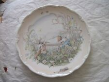 Royal Doulton Wind in the Willows plate Preparation For Boating Season