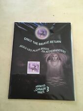 2016 royal Canadian mint coin and stamp set haunted series 3 bell island