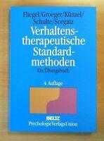 Verhaltenstherapeutische Standardmethoden: Ein Übungsbuch (Nur drin geblättert)