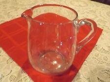 Glass water pitcher-Grapes pattern