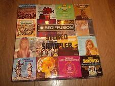 """V/A """" REDIFFUSION STEREO SAMPLER """" JAZZ VINYL LP 1972 EX/EX"""