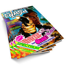 Complete Collection CRASH MAGAZINE! 98 ISSUES!  ZX Spectrum, Retro Gaming