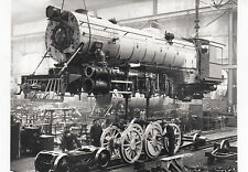 Photo / REPRO Montre Indian LOCOMOTIVE 1949-1954 Klaus Maffei Typ YP (agf605)