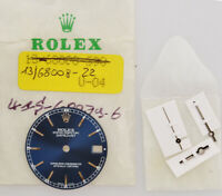 Rolex original blue dial white gold Djust 31mm 68279 new old stock w/hands 204
