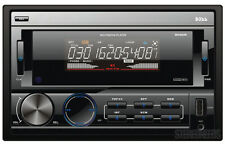 BOSS 802UA 2 DOUBLE DIN CAR STEREO MP3 PLAYER USB/SD/AUX/iPOD/iPHONE RECEIVER