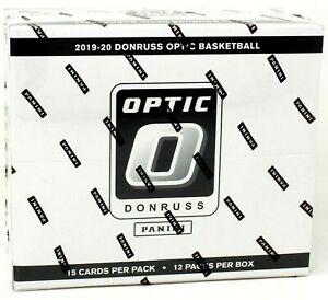 2019/20 Panini Donruss Optic NBA Basketball card Multi-Pack Box (12 Ct.) NEW!
