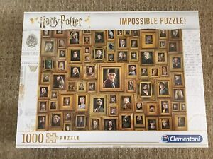 Clementoni Harry Potter Impossible 1000 Piece Jigsaw Puzzle - 61881
