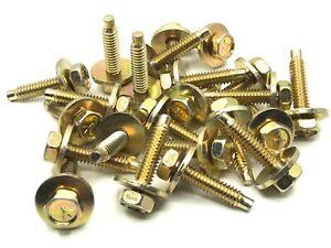 under hood  body bolts 1/4-20 x 1-1/8 fits chrysler dodge plymouth - 25pcs