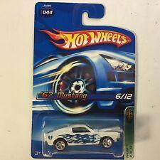 Authentic Hot Wheels 2006 T-Hunts '67 Ford Mustang Treasure Hunt
