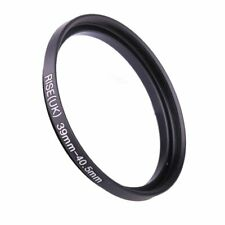 39mm to 40.5mm Stepping Step Up Filter Ring Adapter 39mm-40.5mm 39-40.5mm M to F