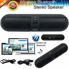 Portable Shockproof Bluetooth Wireless FM Stereo Speaker For Smart Phone Tablet