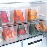 Reusable Kitchen Fridge Food Fruit Storage Container Clear Transparent Box Case