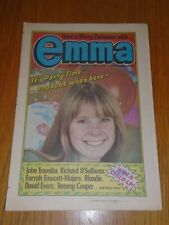 EMMA #45 30TH DECEMBER 1978 BRITISH WEEKLY JOHN TRAVOLTA BLONDIE DAVID ESSEX_