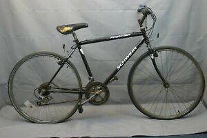 "1997 Schwinn Frontier City Hybrid Bike Large 19"" Shiamno SIS MTB Steel Charity!"