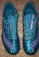 Saucony Shoes Women's Size 7 Turquoise And Purple Soccer