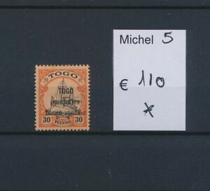 LO45003 Togo french english occupation overprint fine lot MH cv 110 EUR