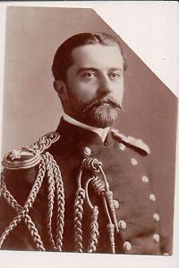Vintage Photo de Presse Inconnu Handsome Militaire Homme Robe Uniforme Russe ??