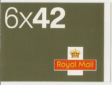 GB 2002 6 x 42P opuscolo-NA1 C £ 35