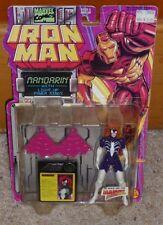 1994 Iron Man-Spider Woman On Mandrin Card MOC Toy Biz