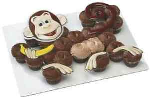 NEW MONKEY BUSINESS CREATION  CUPCAKE/CAKE TOPPER (1)