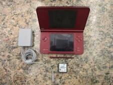 Nintendo DSi XL (UTL-001) Burgundy Handheld Game System
