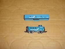 MINITRIX (N) F7-B Diesel Locomotive Shell and MODEL POWER Caboose - CONRAIL
