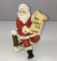 KSA Collectibles Kurt Alder Tom Rubel Santa Checking List Merry Christmas To All